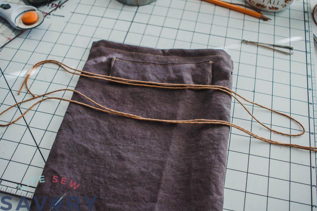 cut ties for bag