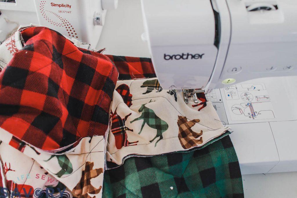 sew quilt squares
