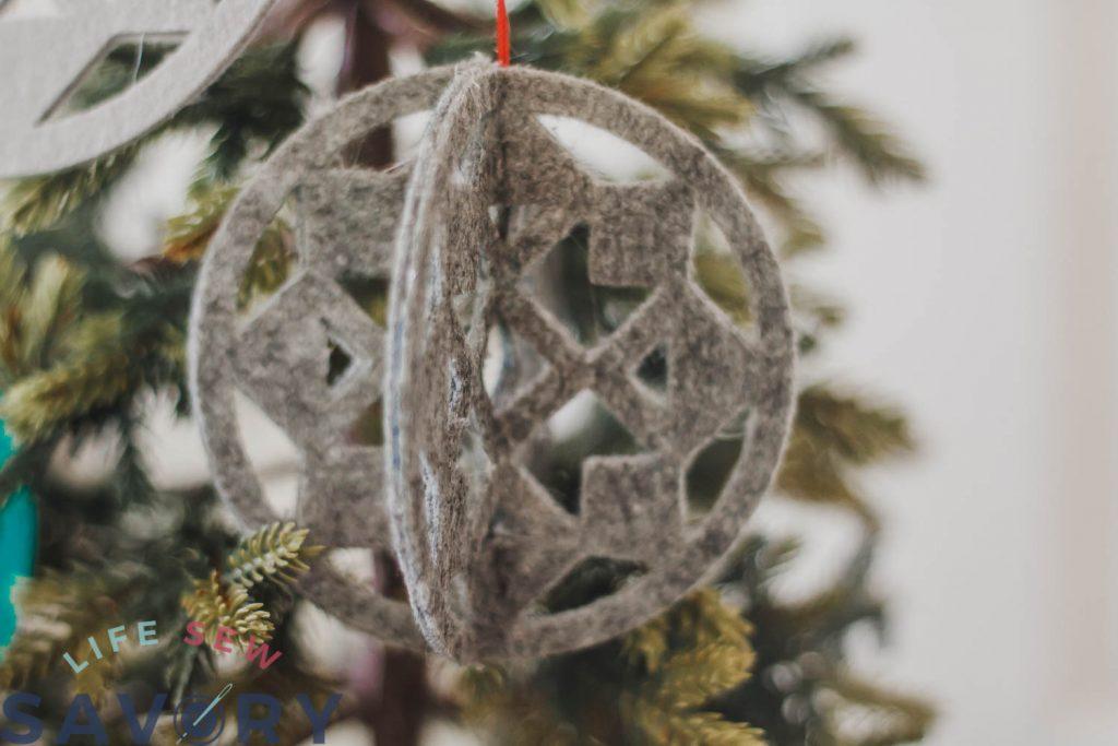 felt ornament template