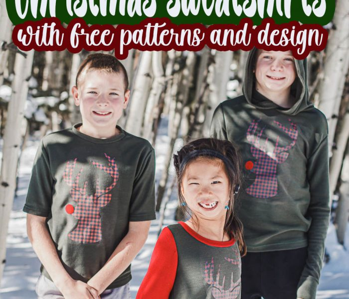 diy christmas sweatshirts