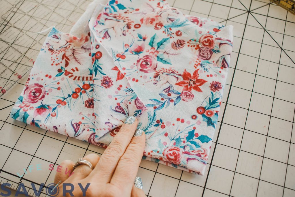 double fold fabric