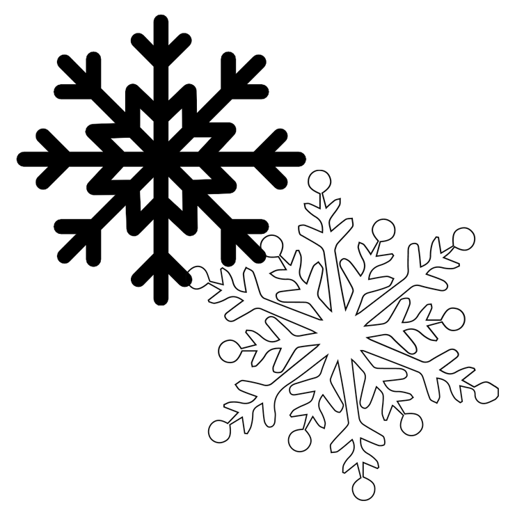 free snowflake cut files