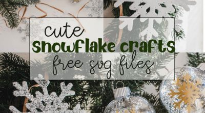 cute snowflake crafts