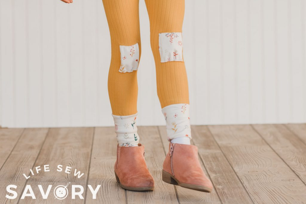 cute knee patches