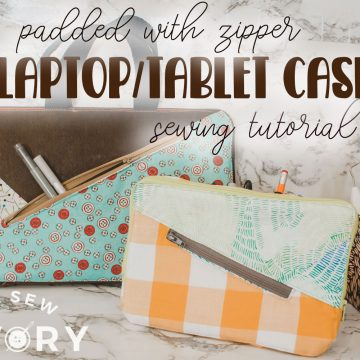 zippered laptop and tablet case