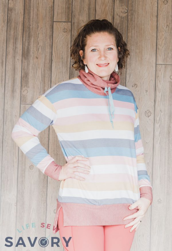 sweatshirt tunic pattern