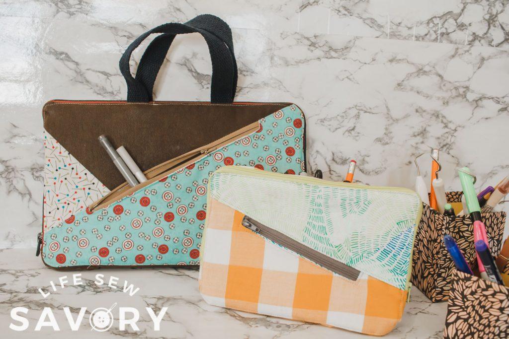laptop case with zipper