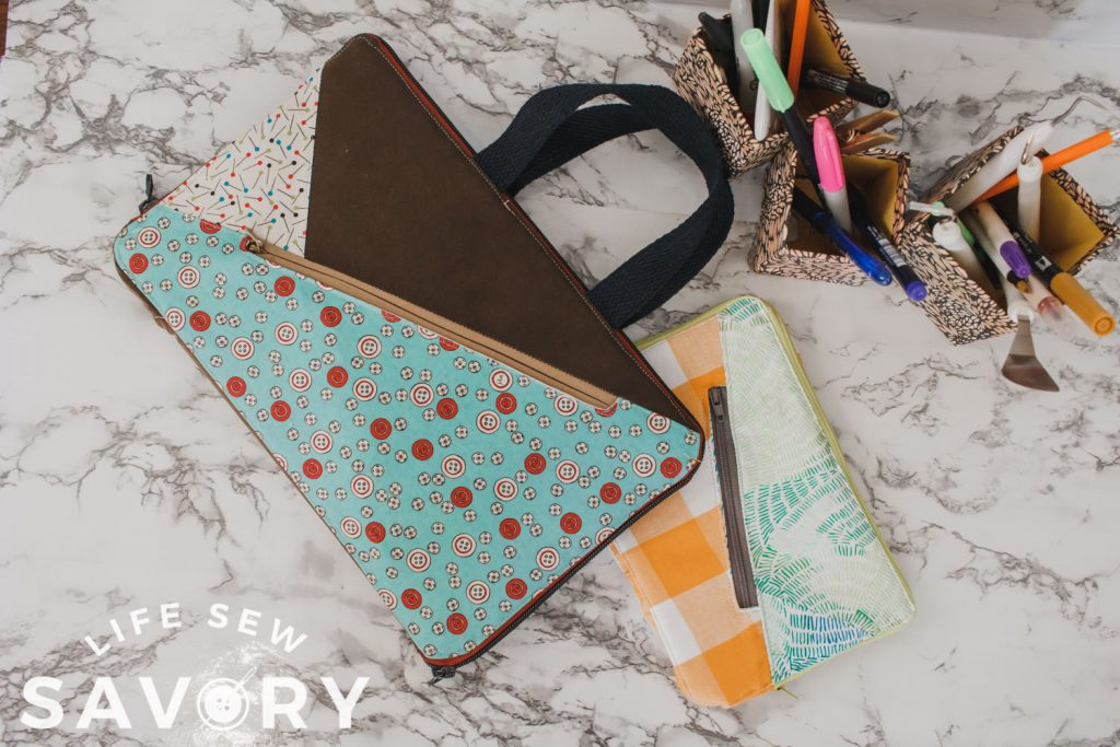 laptop and kindle zippered sewing tutorial
