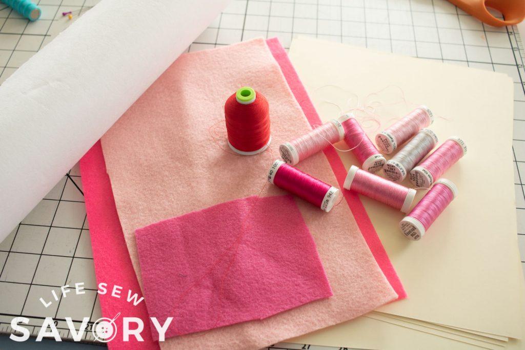 DIY card supplies