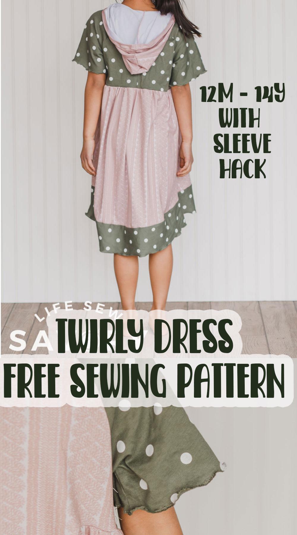sew a dress with a free pattern