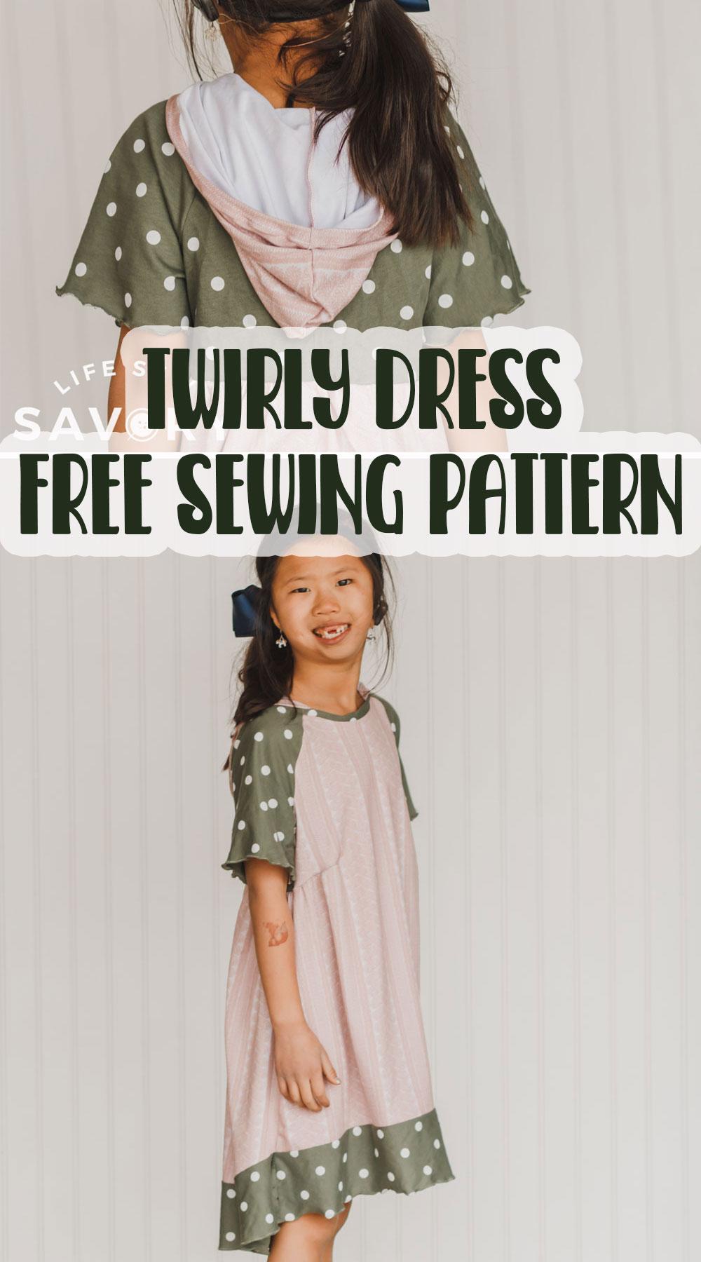 free twirly dress sewing pattern