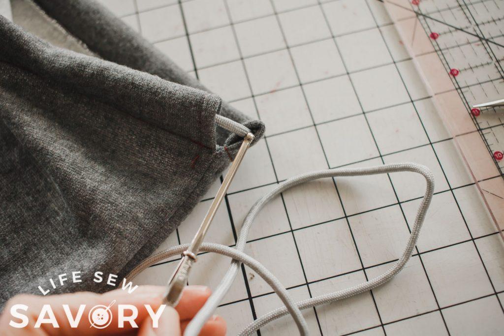 thread string the opposite direction