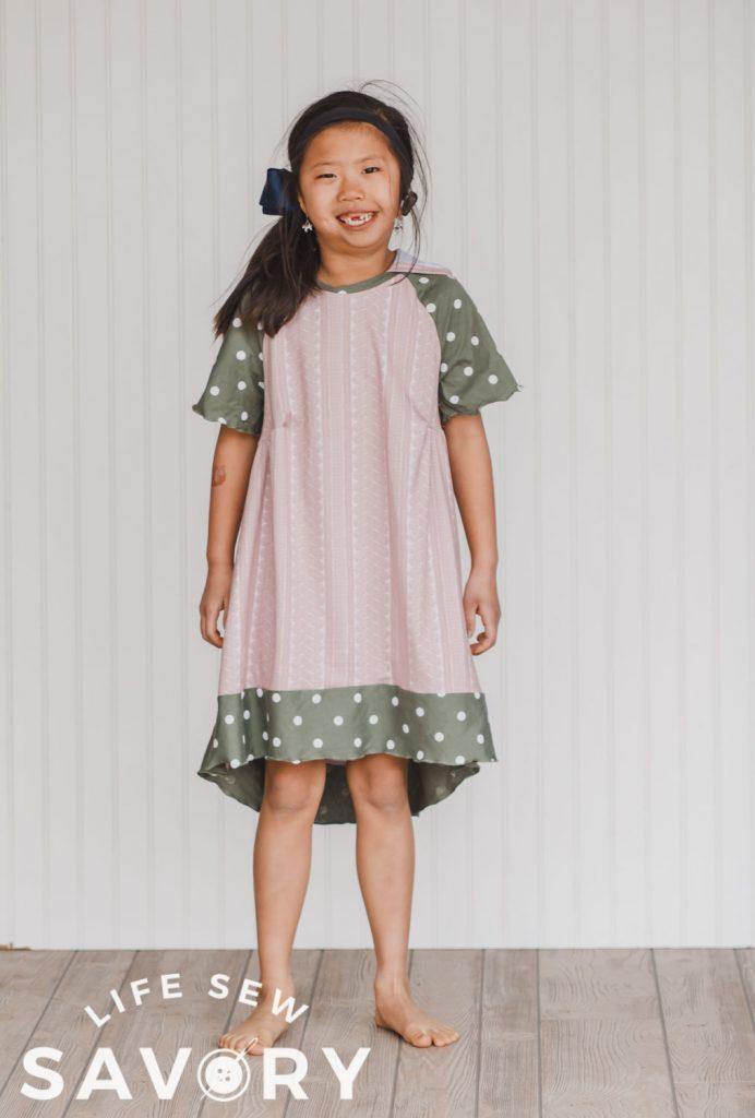 short sleeve twirly dress