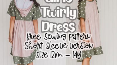 Free dress pattern short sleeve version
