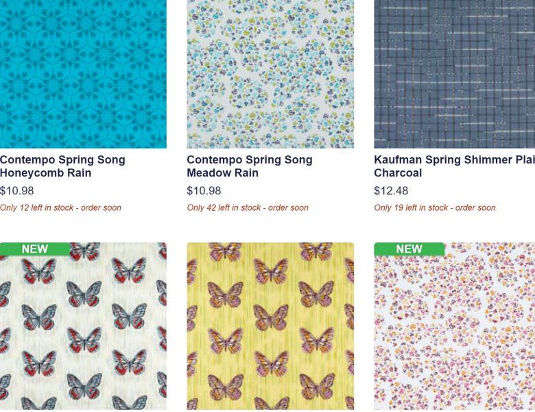 spring cotton fabric
