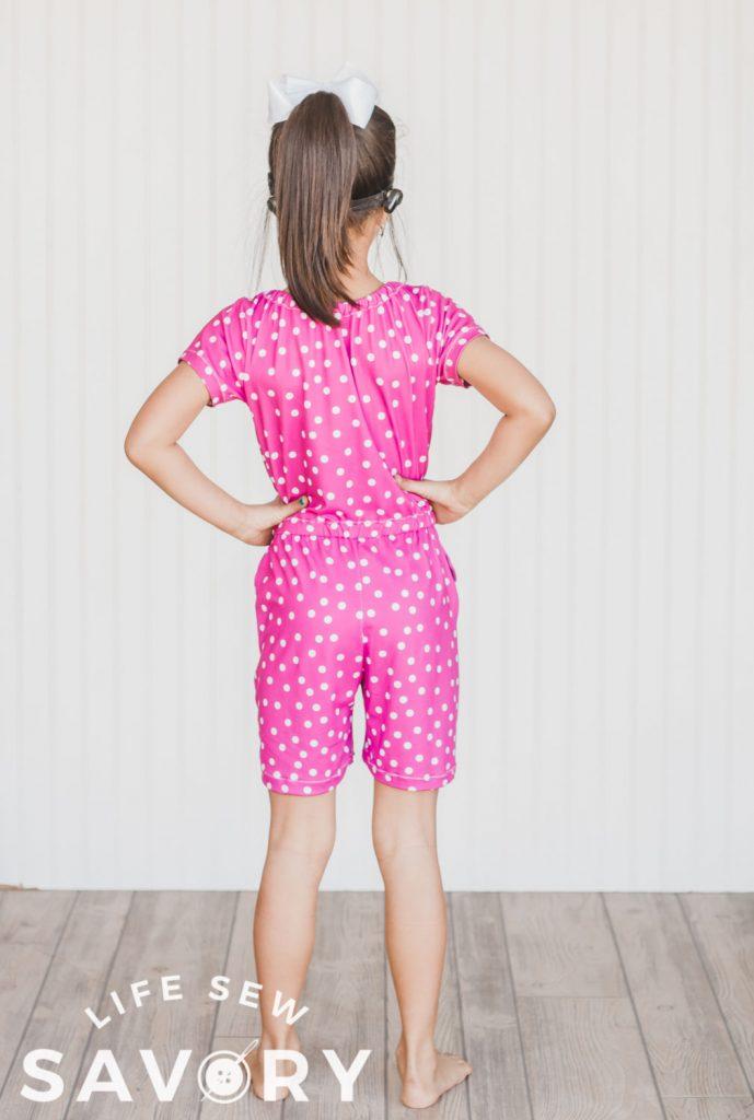 shorts romper free pattern