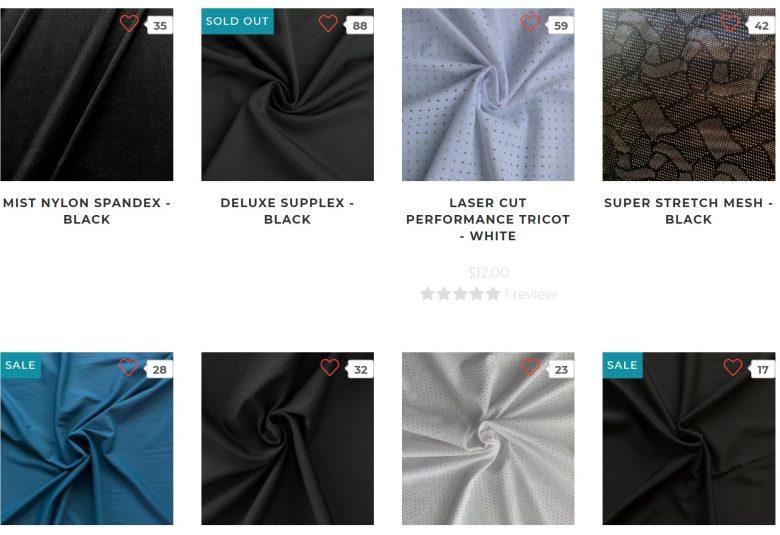 athletic fabric