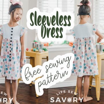 free sleeveless dress pattern