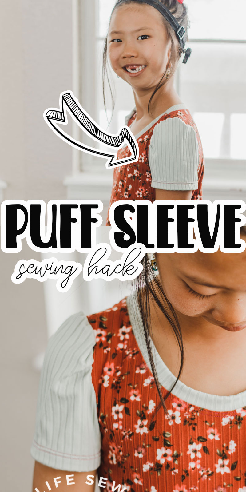 puff sleeve pattern hack and tutorial