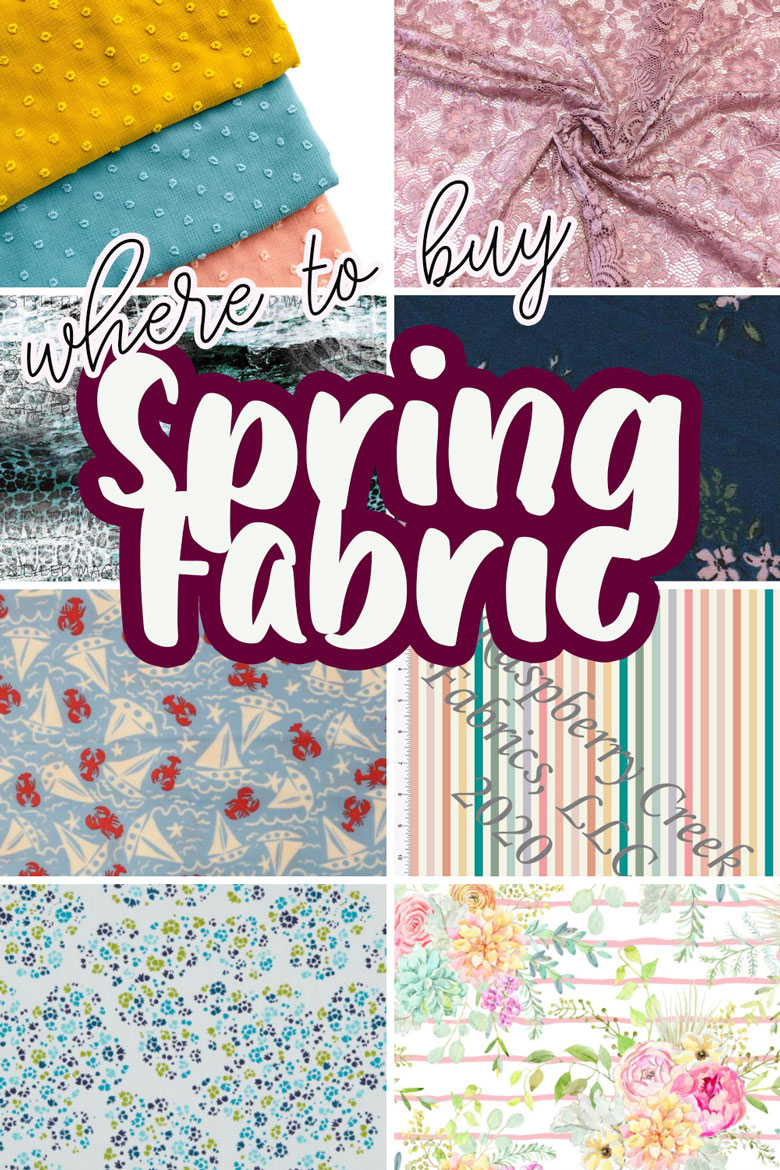 my favorite spring fabric where to buy and what fabric to use