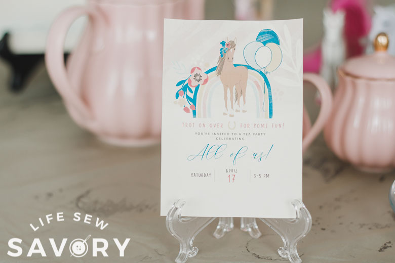 beautiful party printables