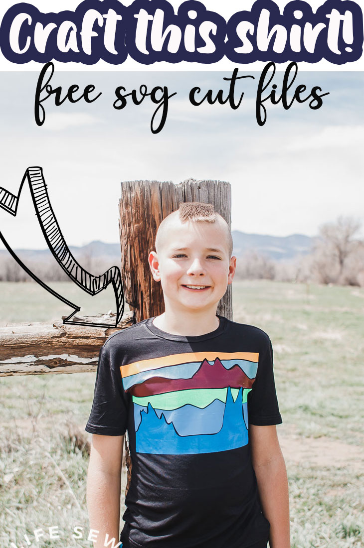 Create amazing diy shirts with this mountain view free svg file and cutting tutorial. Cut and create this fun shirt file. Download the free file in SVG - PNG - PDF format to create a fun shirt or other item.