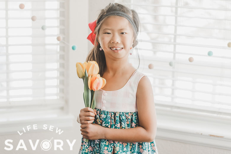 top or tank dress and tulips