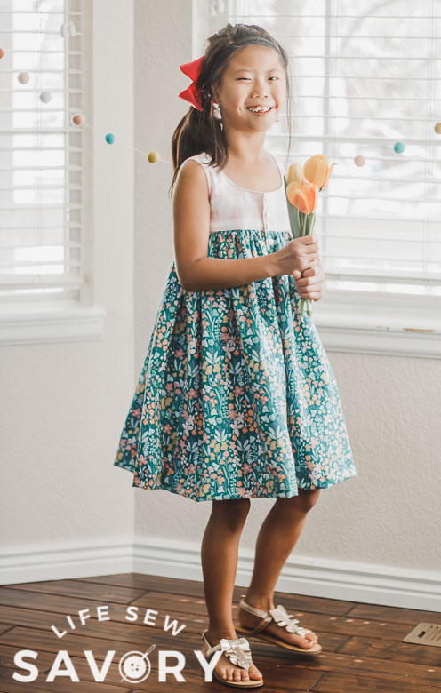 free sewing pattern for tank top dress