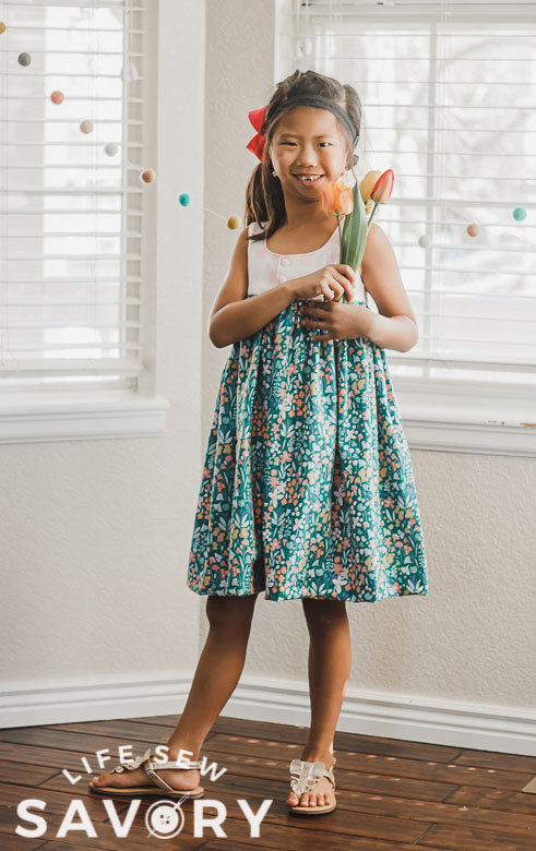 how to sew a dress with a tank top