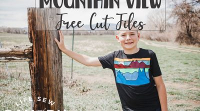 mountain view free cut files