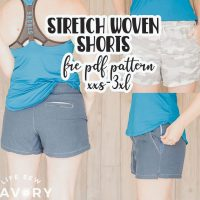 athletic shorts free sewing pattern