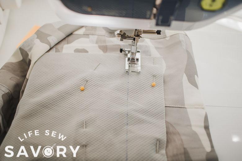 sew around marking