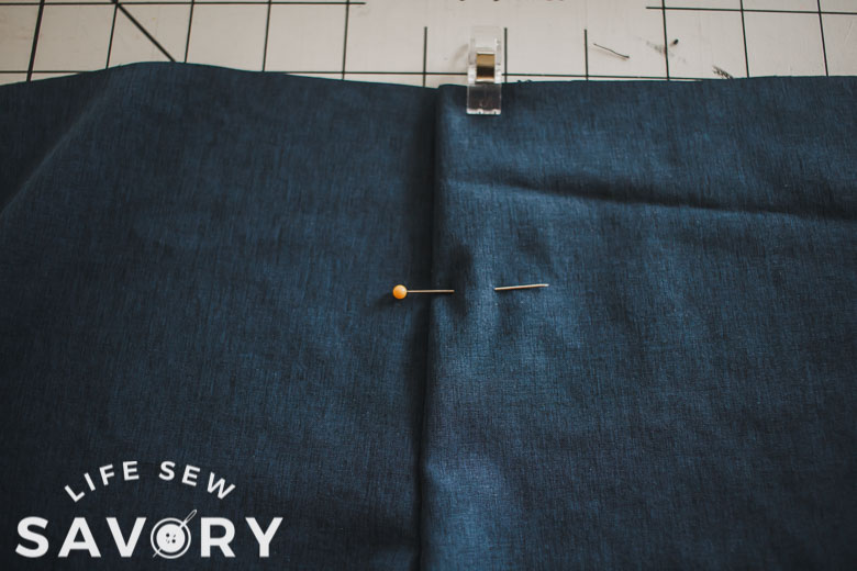 sew faux fly