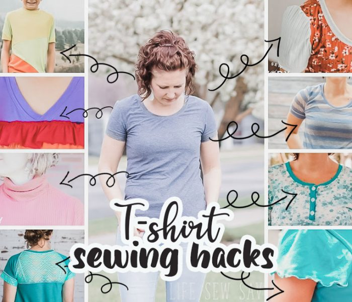 sew fun tshirts with these hacsk
