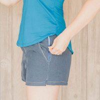 zipper pocket shorts