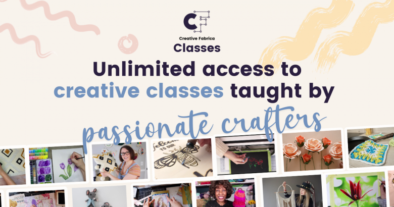online classes from Creative Fabrica