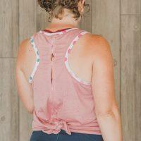 open back free tank sewing pattern