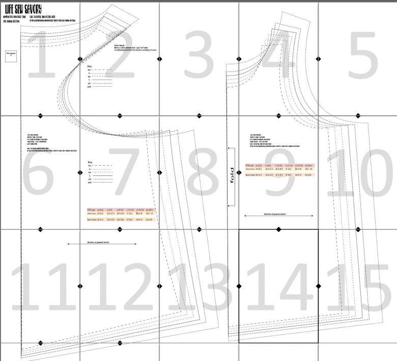 sports tank free sewing pattern sports tank layout guide