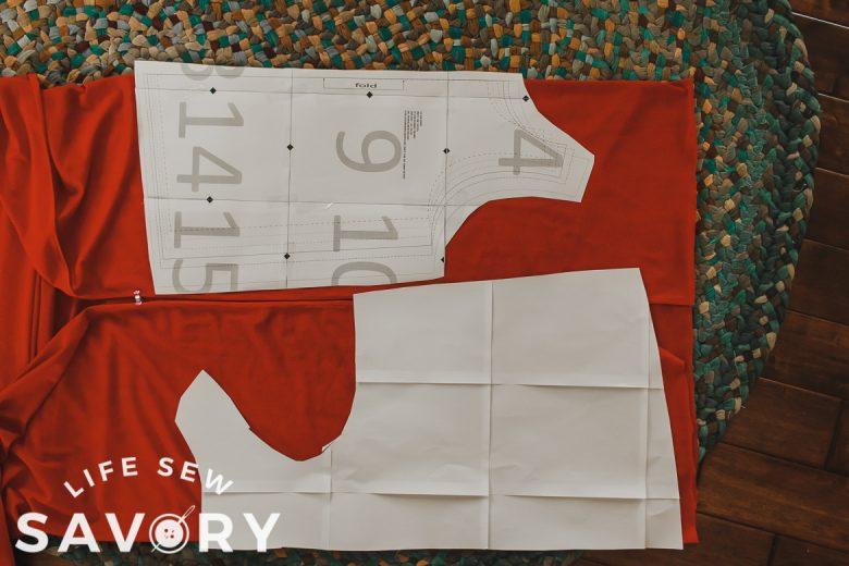 tank fabric layout