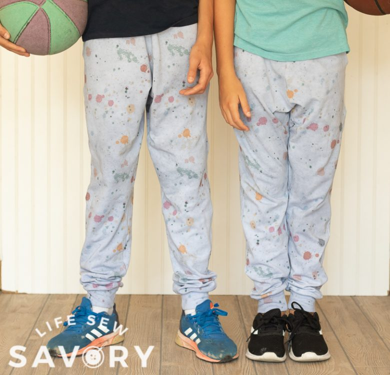 sewing for back to school joggers