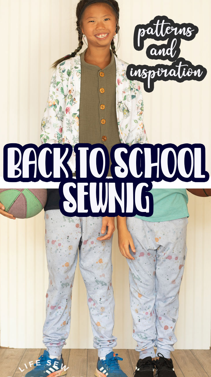 Check out some fun back to school sewing with pattern from Project Run and Play and fabric from Raspberry Creek Fabrics. Great inspiration for back to school sewing to get ready for school.