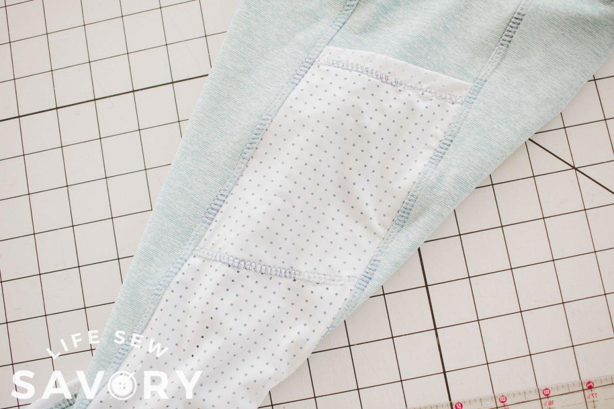 decorative top-stitching