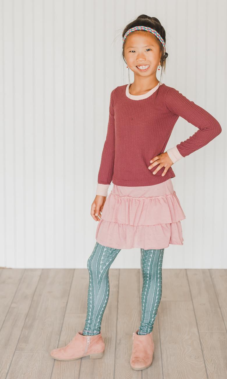 sew a ruffled skirt