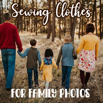clothing tips for family photos