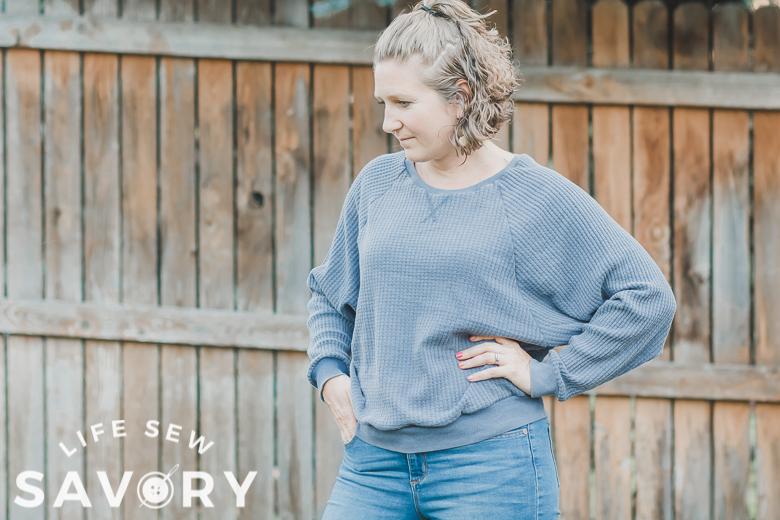 raglan sweatshirt free printable pattern