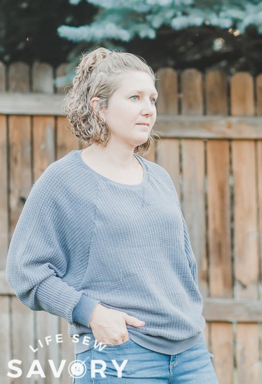 cozy raglan sweatshirt