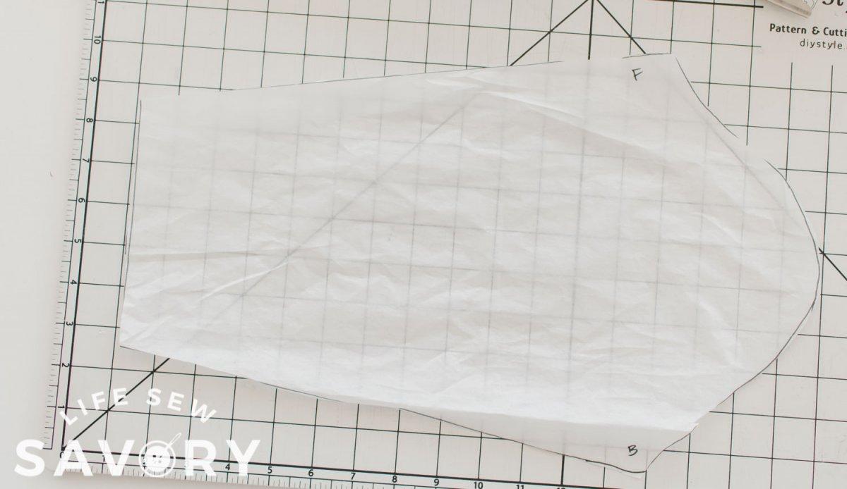 original sleeve from t-shirt