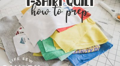 how to prep for a tshirt quilt