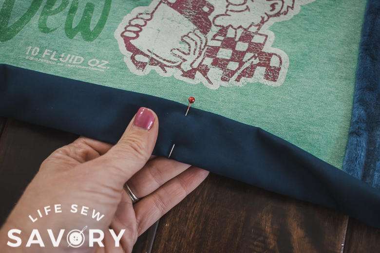 create quilt binding with backing