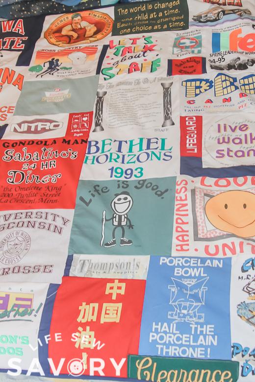 original tshirt quilt